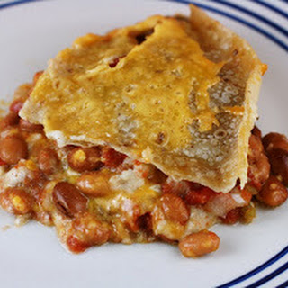 Bean and Cheese Burrito Casserole Slow Cooker.