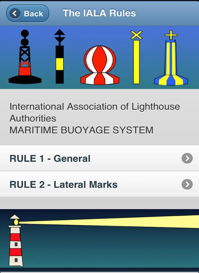 IALA Buoyage & Lights at Sea- screenshot