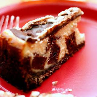 Brownie Mosaic Cheesecake.