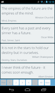 Quotery - The Quote's place - screenshot thumbnail