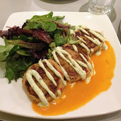 These are Crab Cakes. They are absolutely wonderful!! Gluten and Dairy free, tender and flavorful. I