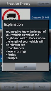 LGV Theory Test UK Free - screenshot thumbnail