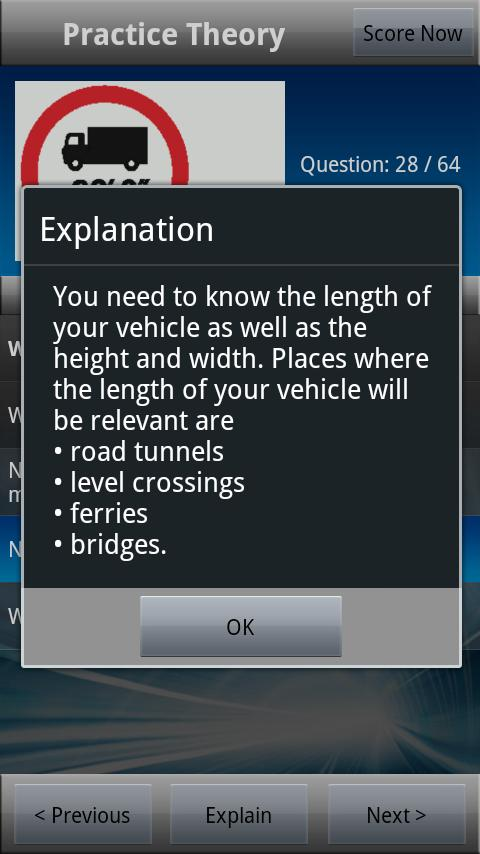LGV Theory Test UK Free- screenshot