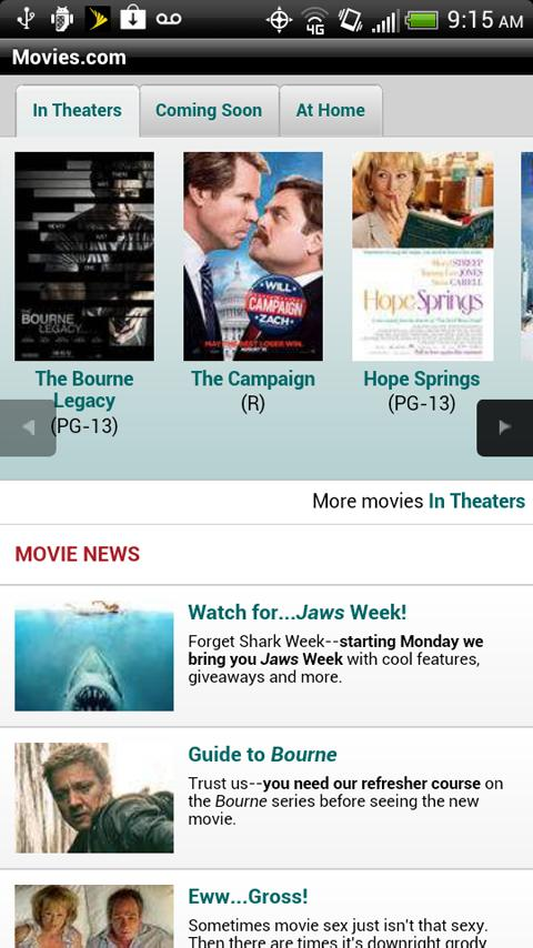 Movies.com - screenshot