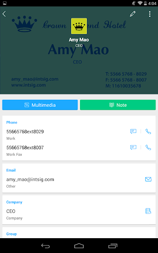 Camcard business card reader apps on google play reheart Choice Image