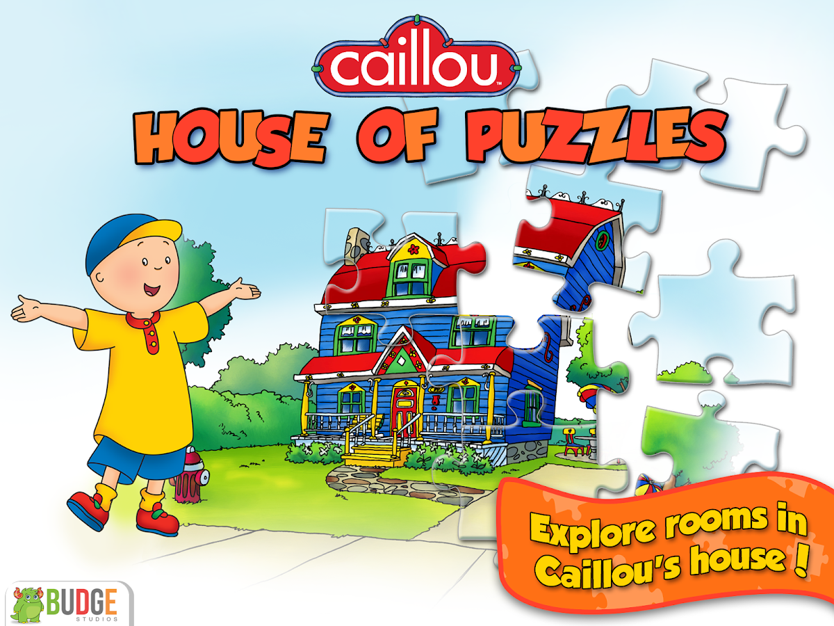 caillou house of puzzles android apps on google play