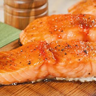Cedar Planked Salmon.