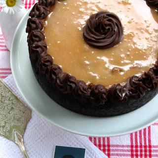 Caramel Fudge Brownie Cheesecake.