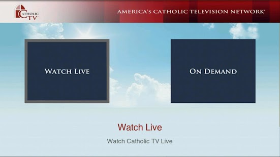 CatholicTV for Google TV- screenshot thumbnail