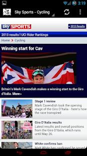Pro Cycling News - screenshot thumbnail