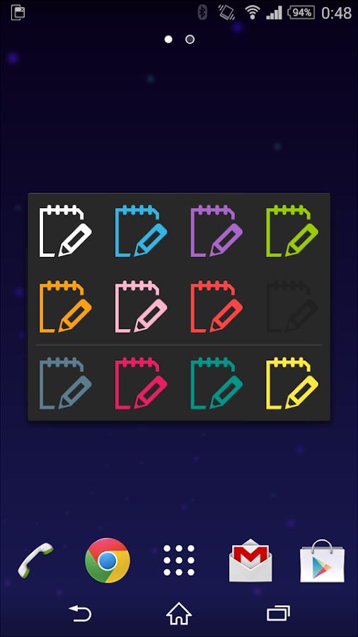 N.memo for SmallApp - screenshot