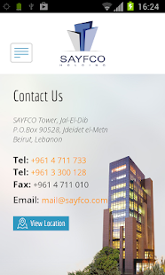 Sayfco- screenshot thumbnail