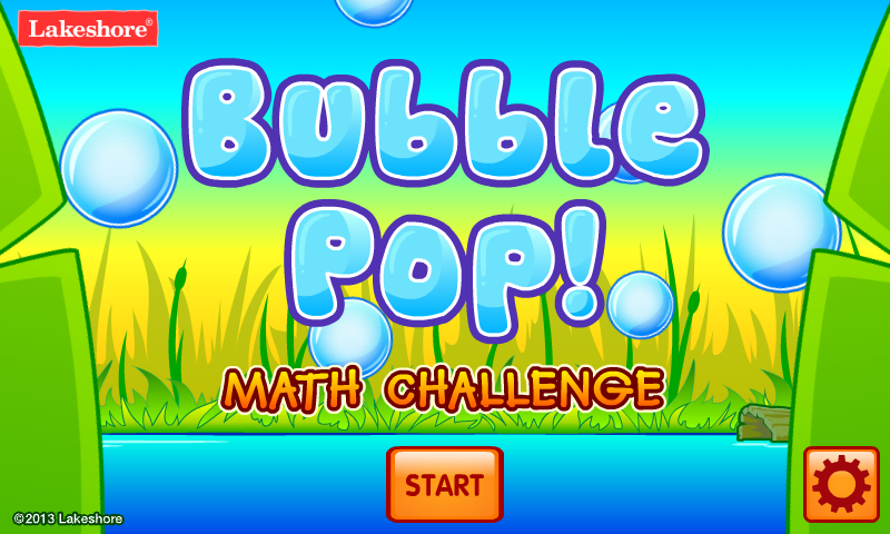 Bubble Pop Math Challenge 1-2- screenshot