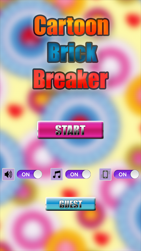 CartoonBrickBreaker(Bricks)