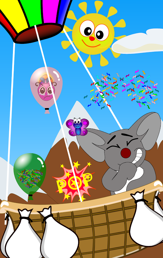 Tap the Balloons for Kids- screenshot