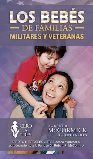 Bebés de familias militares