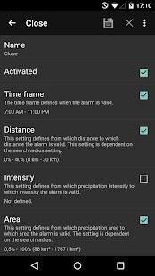 Rain Alarm Pro - screenshot thumbnail