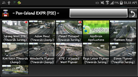 Cameras Singapore - Traffic 5.9.7 screenshot 1264672
