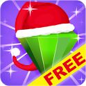 Jewels Space: Christmas Free icon