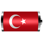 Turkey - Flag Battery Widget