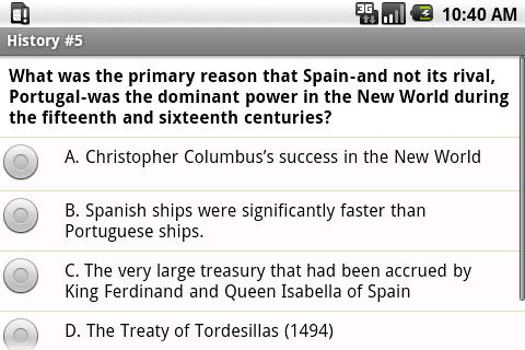 SAT II World History Exam Prep- screenshot