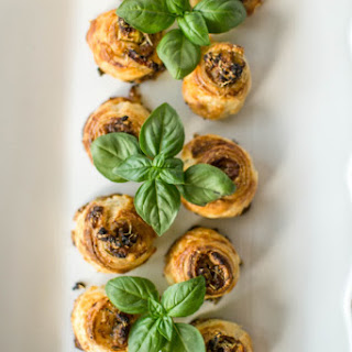 French Shallot and Anchovy Puffs