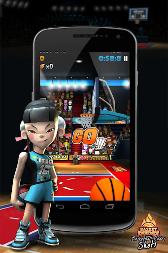 篮球游戏- 三人篮球 - BasketDudes