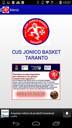Cus Jonico Basket Taranto