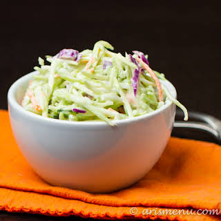 Creamy Greek Yogurt Slaw.