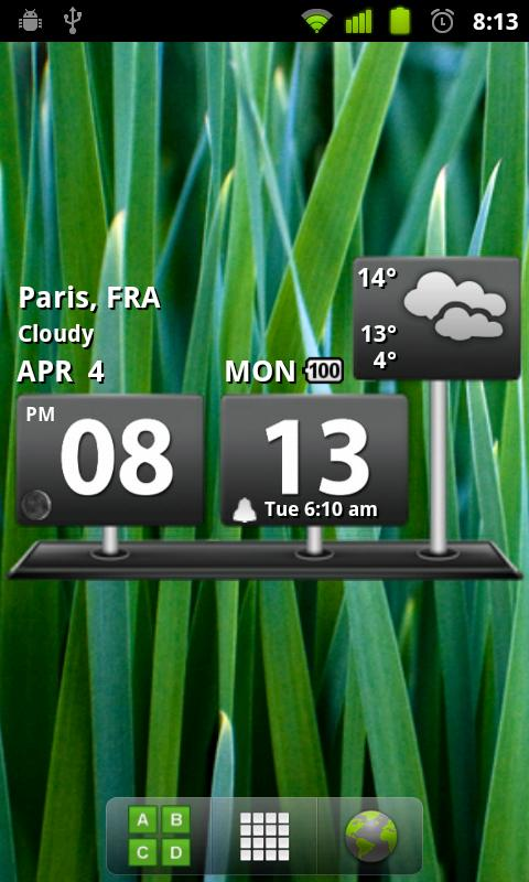 Billboard Digital Weather Widg - screenshot