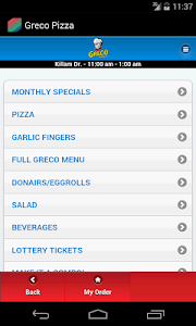 Greco Pizza screenshot 0