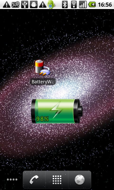 Battery Watch Widget ★★★★★ - screenshot
