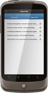 SalvoSM RSS News Feed Reader- screenshot thumbnail