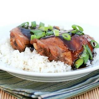 Slow Cooker Shoyu Chicken.