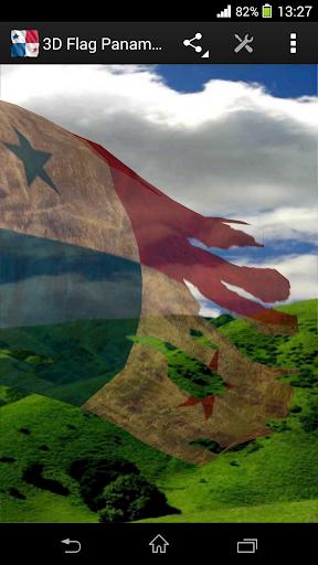 玩免費生活APP|下載3D Flag Panama LWP app不用錢|硬是要APP