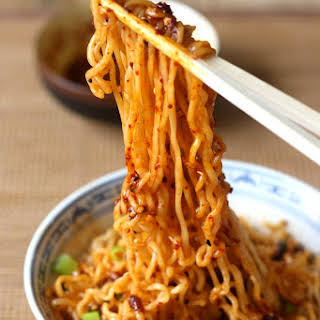 Hot Spicy Noodles Recipes.