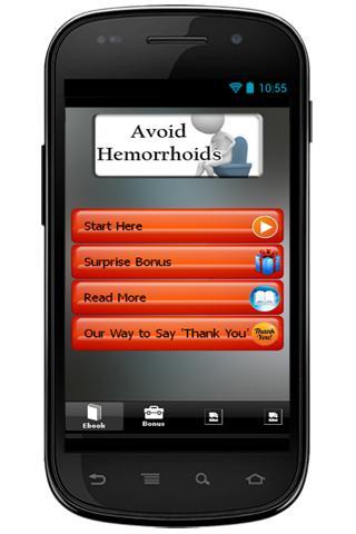 Avoid Hemorrhoids
