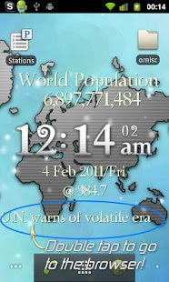 One World LiveWP w/ RSS Reader- screenshot thumbnail