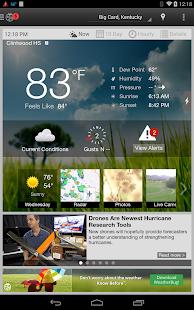 WeatherBug - Forecast & Radar Screenshot 33