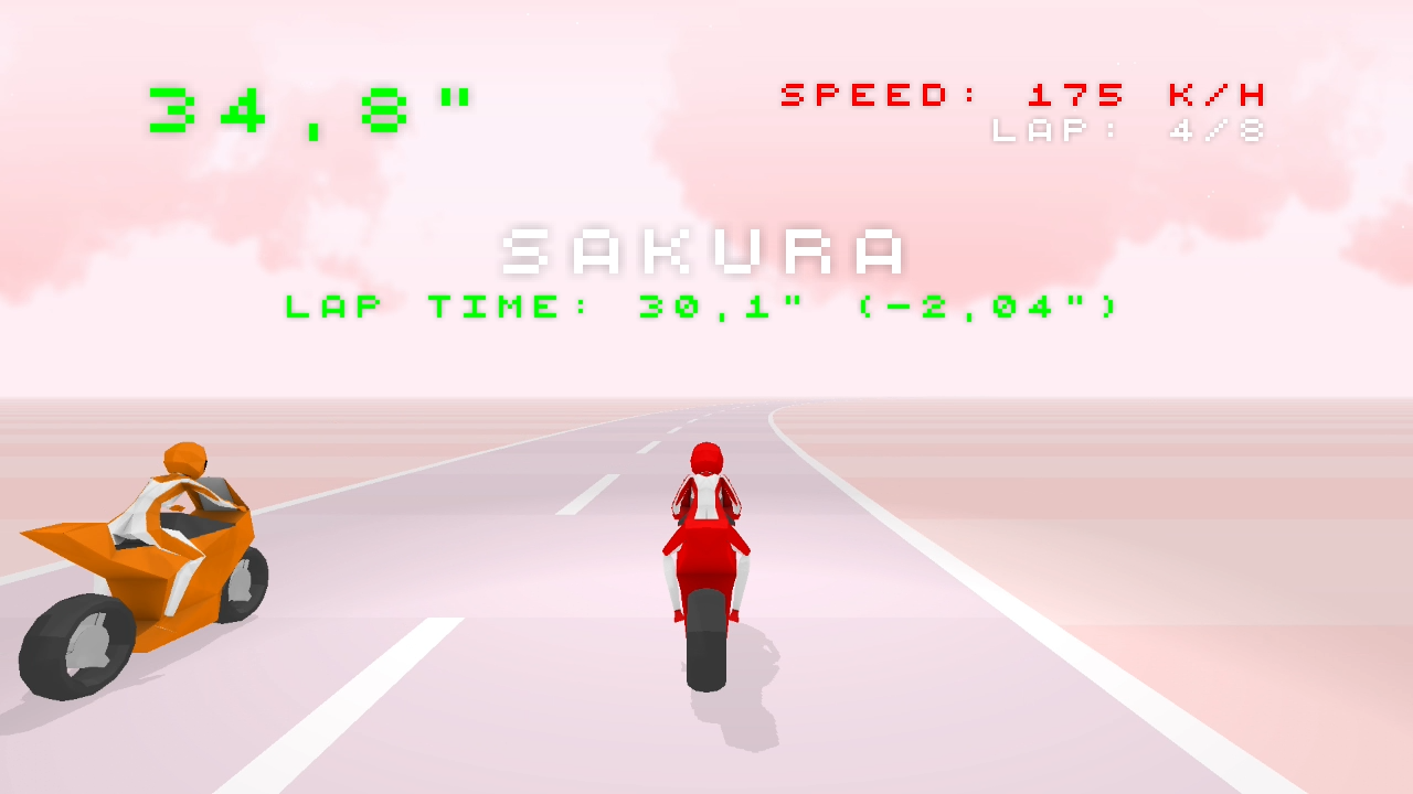 Night Riders 3D Arcade Racing - screenshot