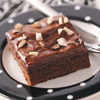 Almond Brownies.
