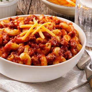 Ragu's Family Favorite Chili Mac