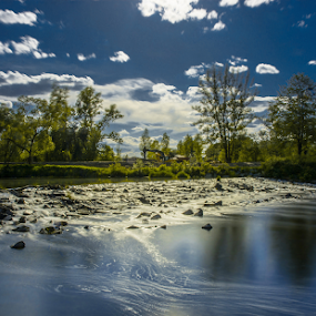 River by Zdenek Smistik - Landscapes Waterscapes