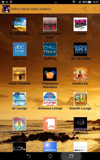 Chillout Music Radio Stations