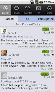 Aust Frequent Flyer - Mobile - screenshot thumbnail