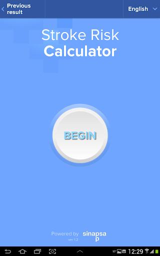 Stroke Risk Calculator