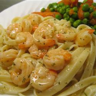 Shrimp Scampi Bake