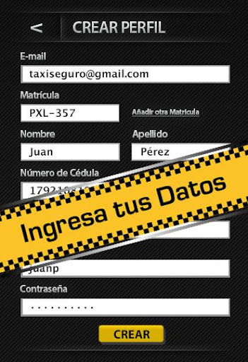 Taxi Seguro Versión Taxi