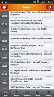 Admiral Basketball Bundesliga- screenshot thumbnail