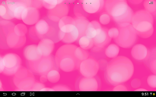 Light Drops Pro Live Wallpaper - screenshot thumbnail
